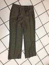 JONES NEW YORK Brown Herringbone Tweed Wool Dress Career Pants Trousers _sz 6 P