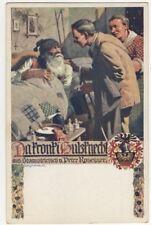 M Rassmann Da Kronki Hulzknecht Vintage Art Postcard US094