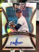 2020 Select Signatures Ronald Bolanos #S-RB Autograph Prizm /99 Padres