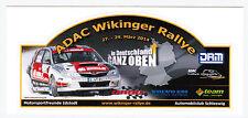 ADAC WIKINGER Rallye 2014 5 Stück Mini-Rallye-Aufkleber