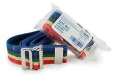 "Gait Belt METAL Release Transfer  60"" RAINBOW Gaits Medical Caregiver Belts"