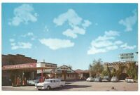 Postcard Standard Oil Cameron Trading Post Grand Canyon Park, AZ 50's Cars