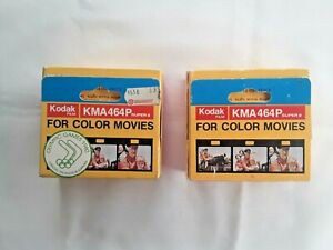 KODAK MOVIE FILM KMA464P SUPER8  1980