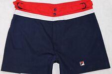 Raro Vintage beachbuoy Pantalones Cortos de Natación fila años 80, Retro, Tamaño: mediano