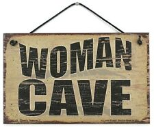 5x8 Woman Cave Sign Keep Sewing Knitting Kitchen Out Hobby Craft Room Girls Only
