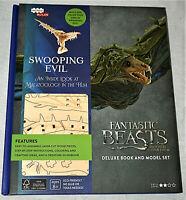 Fantastic Beast Swooping Evil Book & Wood Model Set Loot Crate Exclusive NOS New