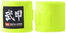 "Professional 120"" Elastic Hand Wraps MMA Boxing Kickboxing Muay Thai Neon Yellow"