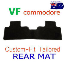 To suit Holden VF Commodore Custom fit Tailored Rear Floor Mat Only Black Carpet