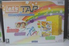 LET'S TAP - NINTENDO Wii - NUOVO SIGILLATO - VERSIONE ITALIANA