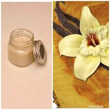 Cedarwood Vanilla Soy Candle Handmade All Natural 100% Soy Wax 8 oz