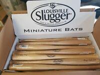 """24 Pack Louisville Slugger 18"""" Mini Souvenir Baseball Bats George Babe Ruth"""
