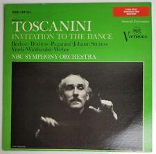 Arturo Toscanini Invitation to the Dance  NBC Symphony  LP  Victrola VIC 1321e