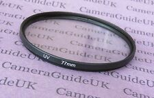 UV 77mm Ultra Violet Filter For Panasonic,Sigma,Samsung,FujiFilm,Nikon,Sony Lens