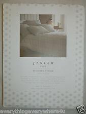 Jigsaw Salcombe Stripe Stone Single Duvet Cover