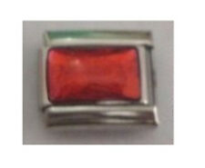 Italian Charms E132   Iridescent Red