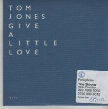 (AZ829)  Tom Jones, Give A Little Love - DJ CD