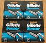 20 Gillette Sensor Original Shaver Razor Blade Refill Cartridges Genuine 4 Packs