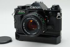 Exc+++++ Canon AE-1 Program Black 3363333  NFD 50mm f/1.8 WINDER from Japan 40