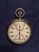 Vintage Heuer-Leonidas (pre-Tag Heuer) 7 Jewels Manual-Wind Stopwatch