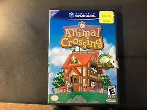 Animal Crossing (Nintendo GameCube, 2002) Black Label With Memory Card CIB RARE