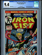 Marvel Premiere #15 Iron Fist CGC 9.4 NM Marvel Comics 1974 1st Iron Fist  k13
