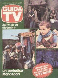 GUIDA TV 1979 N.51 L'ALBERO DEGLI ZOCCOLI OLMI TELESALENTO TELEBARI TELEUROPA