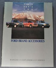 1994 Ford Truck Accessories Catalog Brochure F-150 250 Pickup Ranger Explorer 94