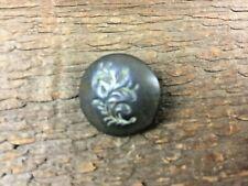 Civil War Flower Button Recovered Brushy Mountain Line Ga