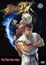 Street Fighter 4 The Ties That Bind Japanese Animation HONG KONG ACTION MOVIE