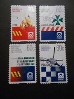 2010 Australia Self Adhesive Post Stamps~Emergency Services~Fine Used, UK Seller