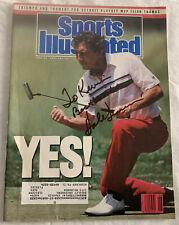 Hale Irwin Signed Sports Illustrated Magazine Golf 1990