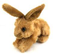 Aurora Bitty Mini Little Bunny Rabbit Plush Toy Stuffed Animal Brown White Tail