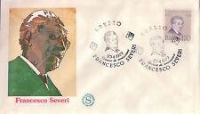 FDC ITALIA PRIMO GIORNO DI EMISSIONE 1979 FRANCESCO SEVERI AREZZO  7-26