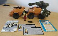 GI Joe Action Force Mean Dog Vintage Hasbro Vehicle 1988 w/ Wild Card Driver