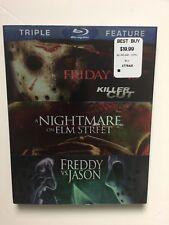 Friday the 13th/Nightmare on Elm Street/Freddy vs. Jason (Blu-ray 2012) New