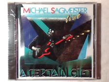 MICHAEL SAGMEISTER A certain gift - Live cd GERMANY SIGILLATO SEALED VERY RARE!!