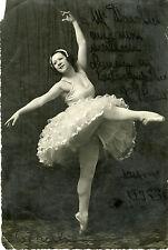 """""""P. CHAUT (?)"""" Photo originale dédicacée à Mr DAROLLES (MERLIN Toulouse 1936)"""