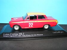Ford Cortina Mk I ETC winner  1964  RHD Racing Minichamps  1:43 rd.Scale