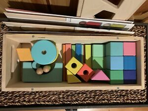 Lovevery The Block Set 18+ Months Preowned For Replacement Pieces Not Complete