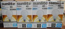 4 Pack Sunlite Globe Medium Base Daylight 9W G25 Compact Fluorescent Light Bulb