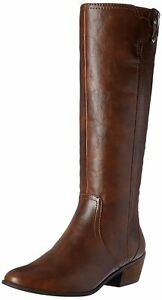 Dr. Scholl's Womens Brilliance Closed Toe Knee High Fashion, Whiskey, Size 9.0 V