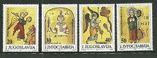 YUGOSLAVIA 2123-26 MNH ILLUSTRATIONS FROM ANCIENT MANUSCRIPTS
