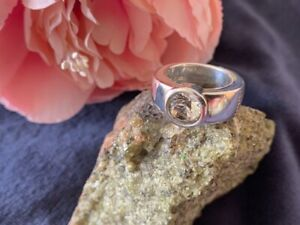 JOOP! Damen Ring 925er Sterlingsilber mit transparentem Zirkonia, Gr. 55 -TOP-