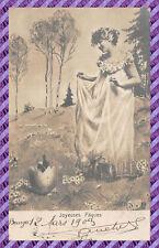 carte postale - Thème Pâques -37