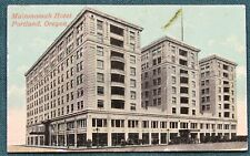 Multnomah Hotel Portland Oregon antique mini post card