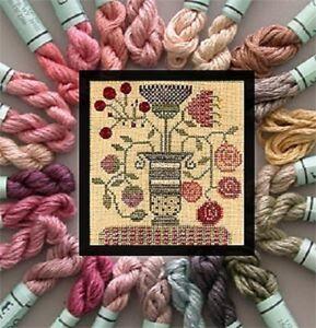 Kreinik Colonial Milkpaint Collection - 25 1/2 Skeins Kreinik Silk Mori Floss