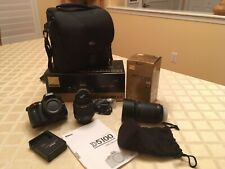 Nikon D5100 16.2MP Digital SLR Camera - (Kit w2Lens AF-S DX VR 18-55 & 55-200mm)