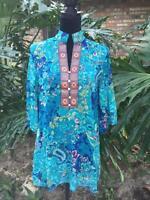 Kimono Chiffon One-piece Womens Summer Dress Cruise Tunic Blouse Shirt