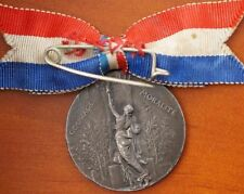 Silver French Exonumia Medals