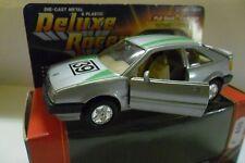 WELLY DIE CAST METAL & PLASTIC DELUXE RACER VOLKSWAGEN #39 GRIGIO GREY  ART 9039